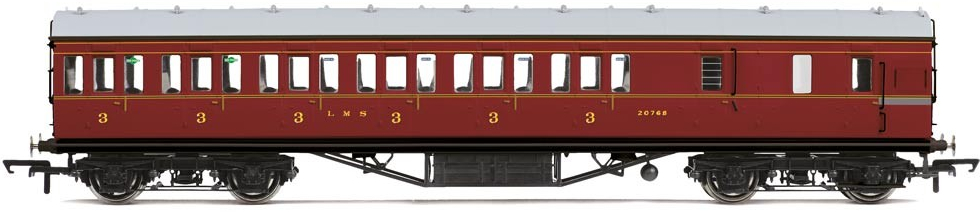Hornby R3397 LMS Stanier 20768 Image