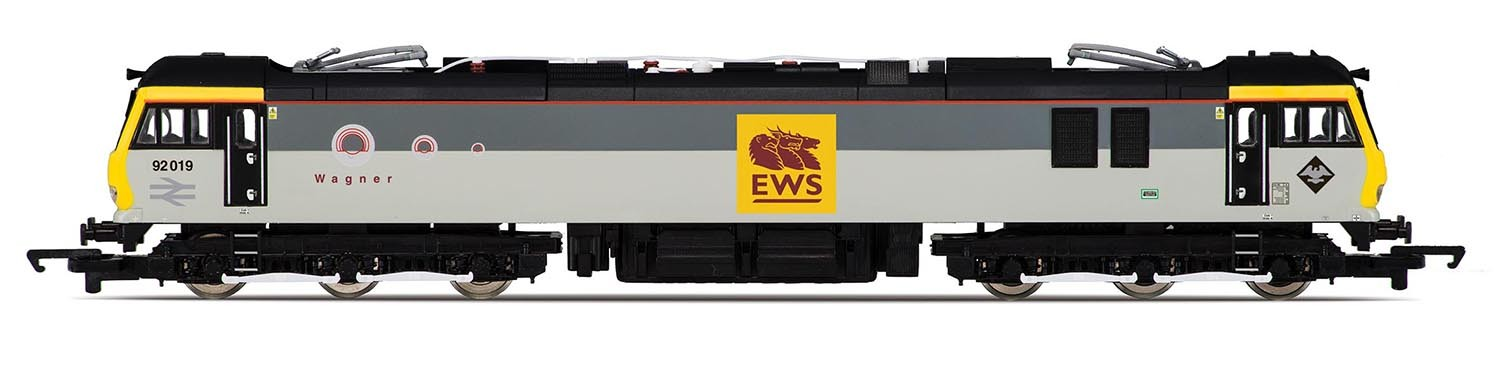 Hornby R3347 BR Class 92 92019 Wagner Image