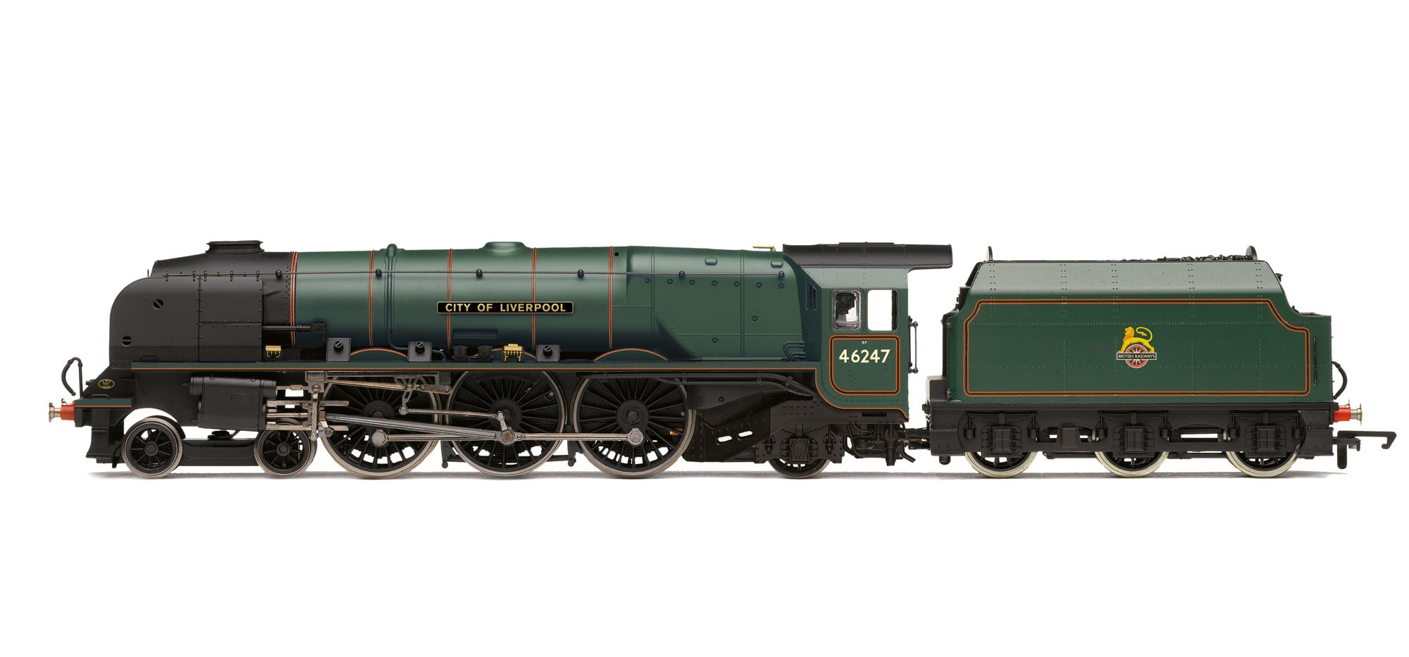 Hornby R3195 LMS 8P Coronation 46247 City of Liverpool Image