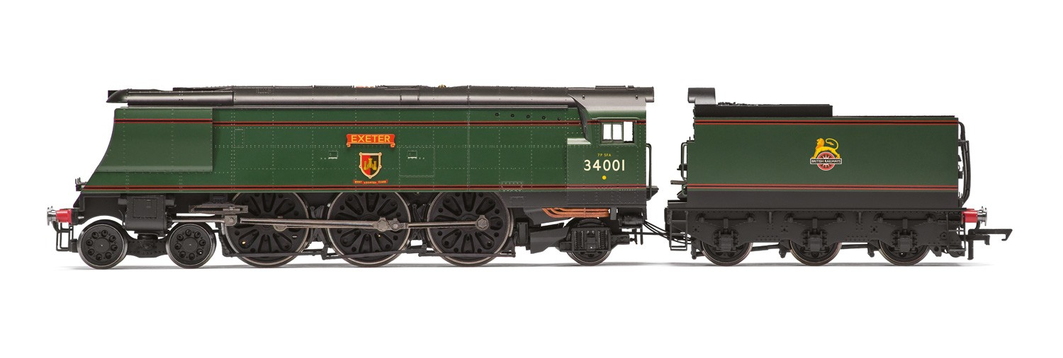 Hornby R3115 SR West Country 34001 Exeter Image
