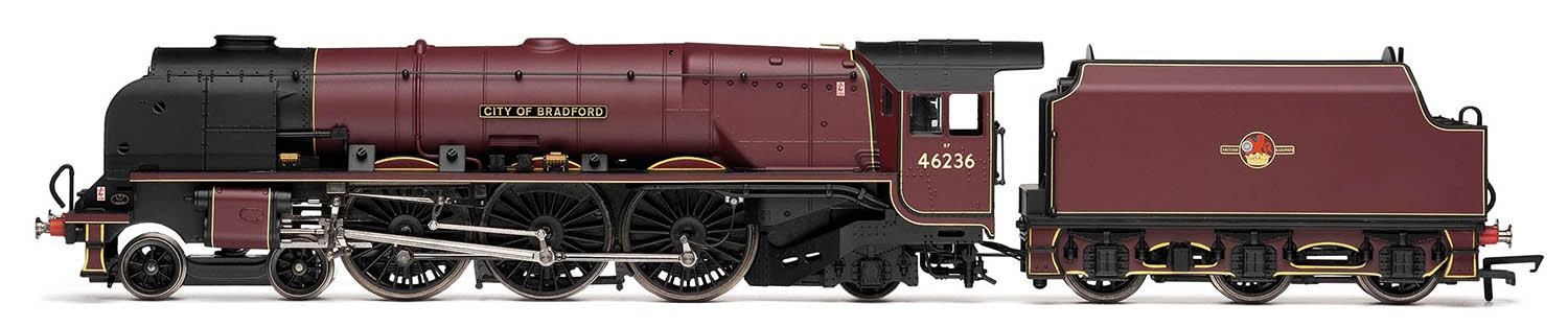 Hornby R3241 LMS 8P Coronation 46236 City of Bradford Image