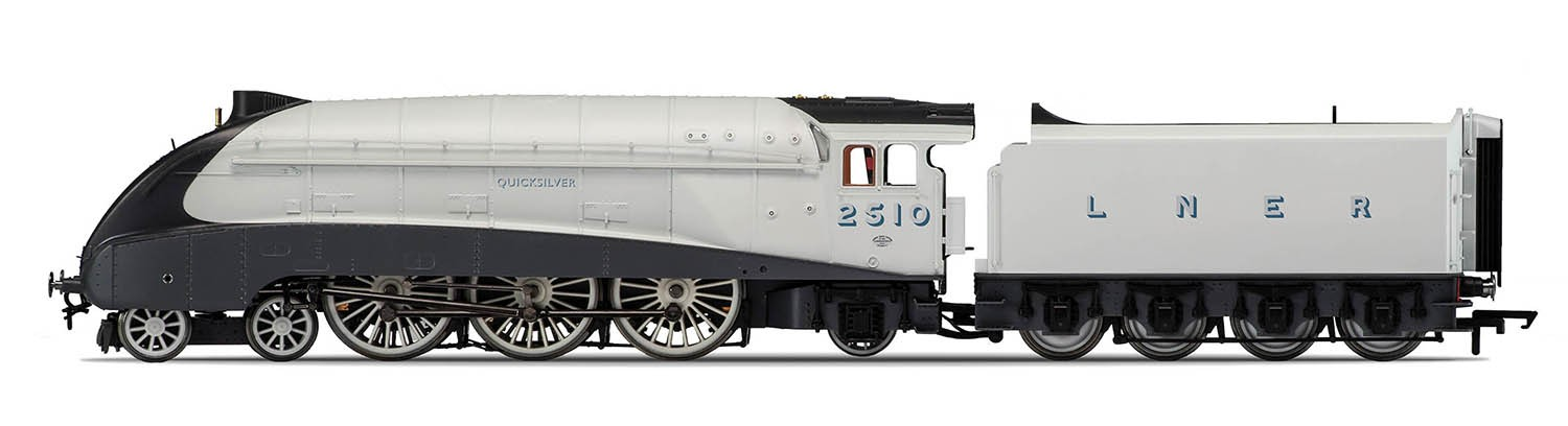 Hornby R3307 LNER A4 2510 Quicksilver Image