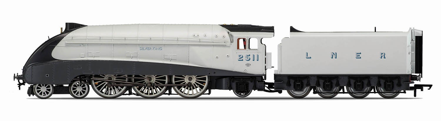 Hornby R3308 LNER A4 2511 Silver King Image