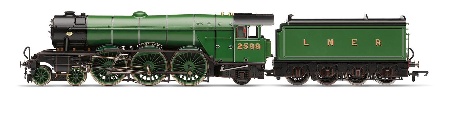 Hornby R3132 LNER A3 2599 Book Law Image