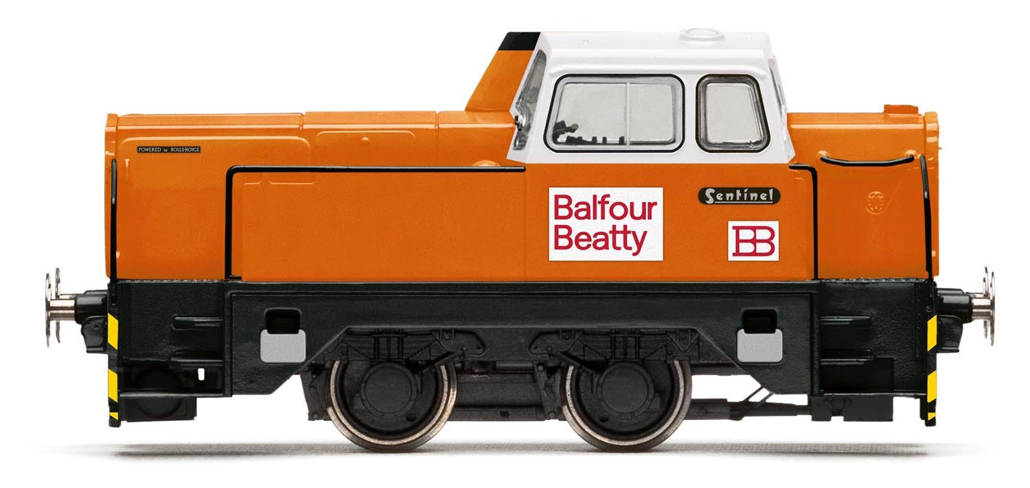 Hornby R3353 BR 4wDH Sentinel Balfour Beatty Image