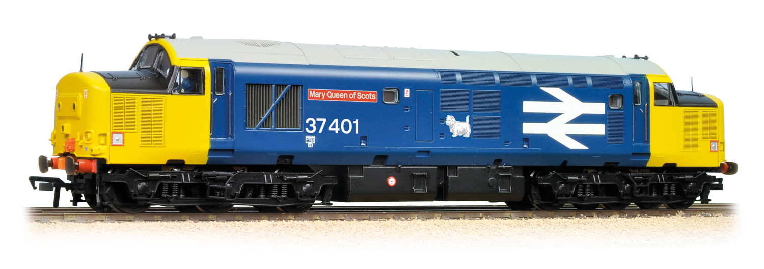Bachmann 32-377A BR Class 37 37401 Mary Queen of Scots Image