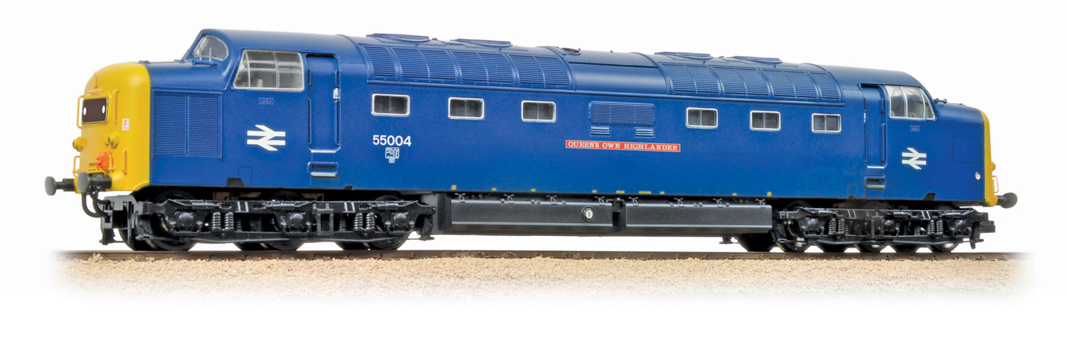 Bachmann 32-534DS BR Class 55 Deltic 55004 Queen's Own Highlander Image