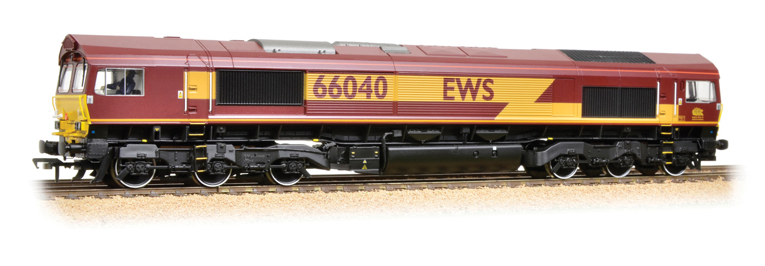 Bachmann 32-733DS BR Class 66 66040 Image