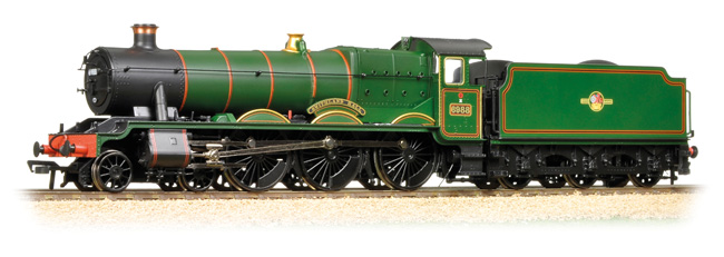 Bachmann 31-780 GWR 6959 Modified Hall 6988 Swithland Hall Image