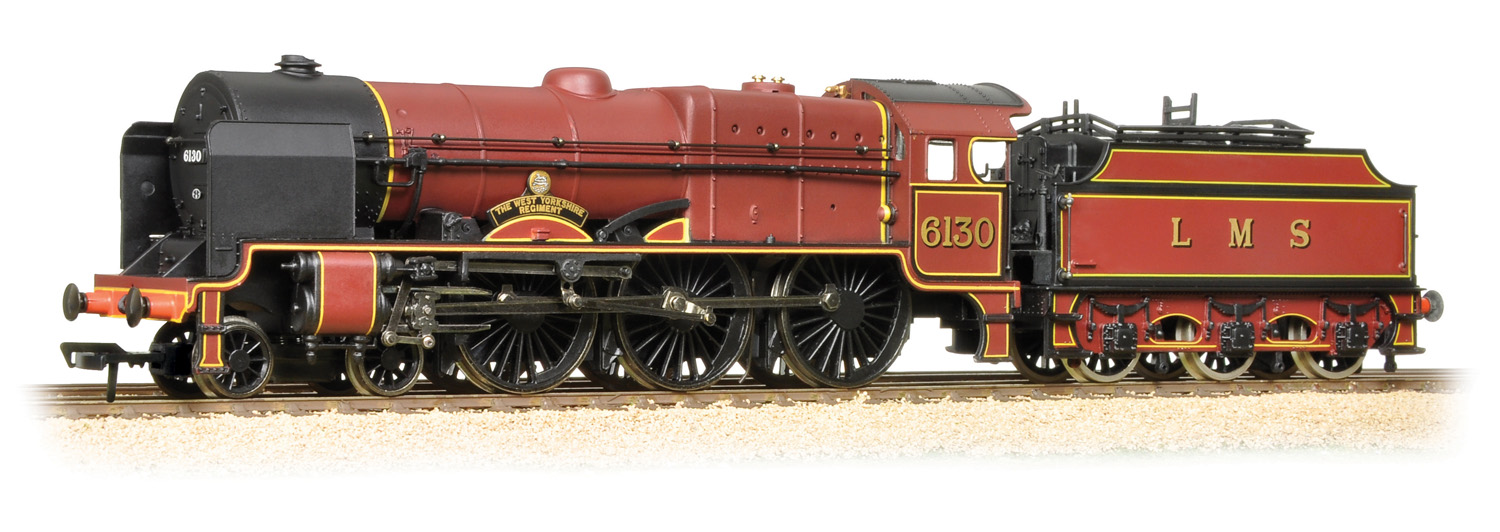 Bachmann 31-285 LMS 7P Royal Scot 6130 The West Yorkshire Regiment Image