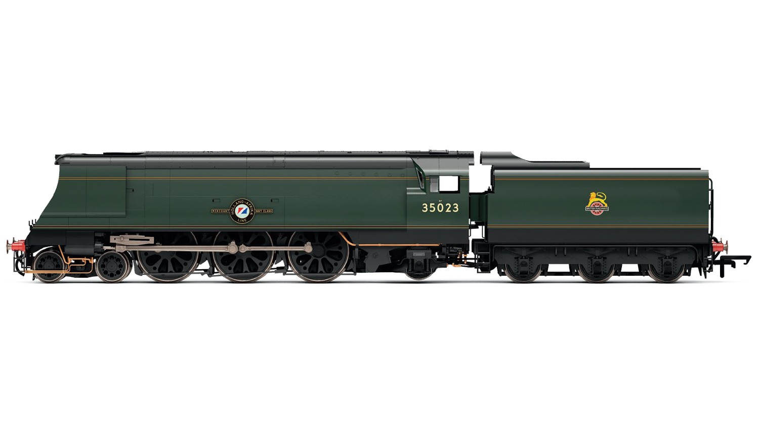 Hornby R3382TTS BR Modified Merchant Navy 35023 Holland-Afrika Line Image