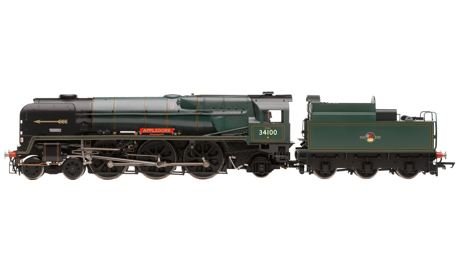 Hornby R3400 SR West Country 34100 Appledore Image