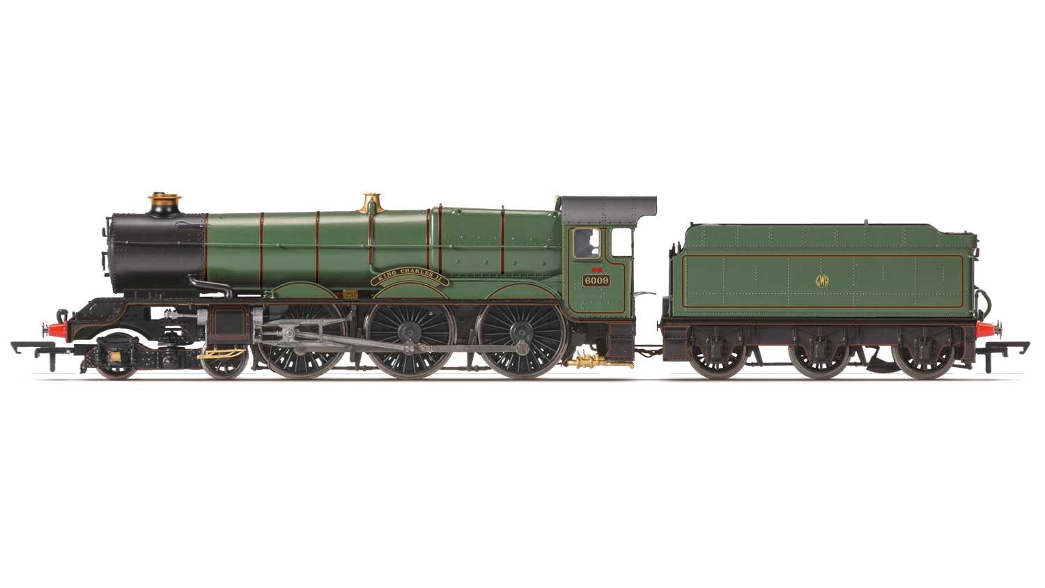 Hornby R3401 GWR 6000 King 6009 King Charles II Image