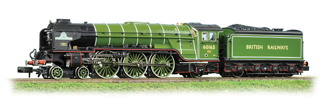 Graham Farish 372-800 LNER A1 (Peppercorn) 60163 Tornado Image