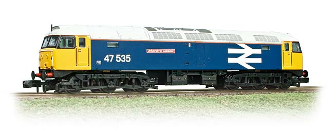 Graham Farish 372-240 BR Class 47/4 47535 University of Leicester Image