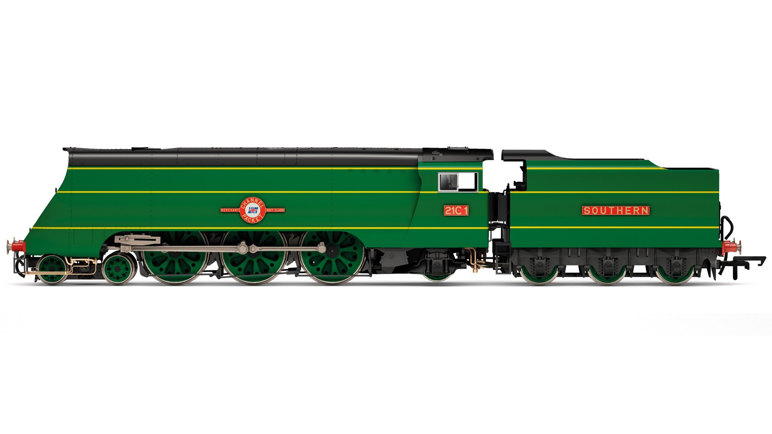 Hornby R3434 BR Modified Merchant Navy 21C1 Channel Packet Image