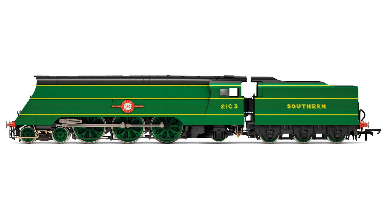 Hornby R3435 BR Modified Merchant Navy 21C3 Royal Mail Image