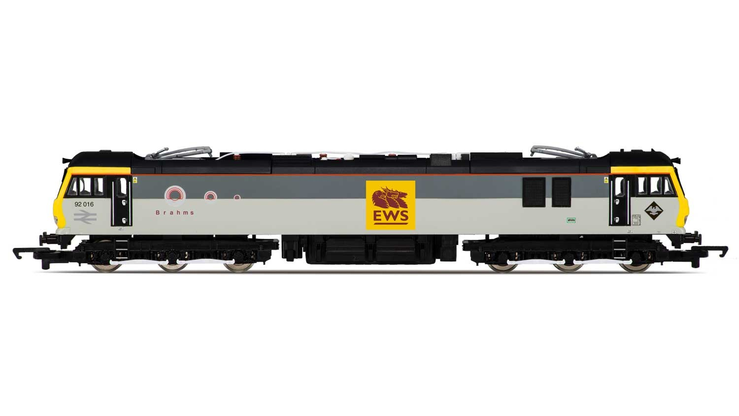 Hornby R3480 BR Class 92 92016 Brahms Image