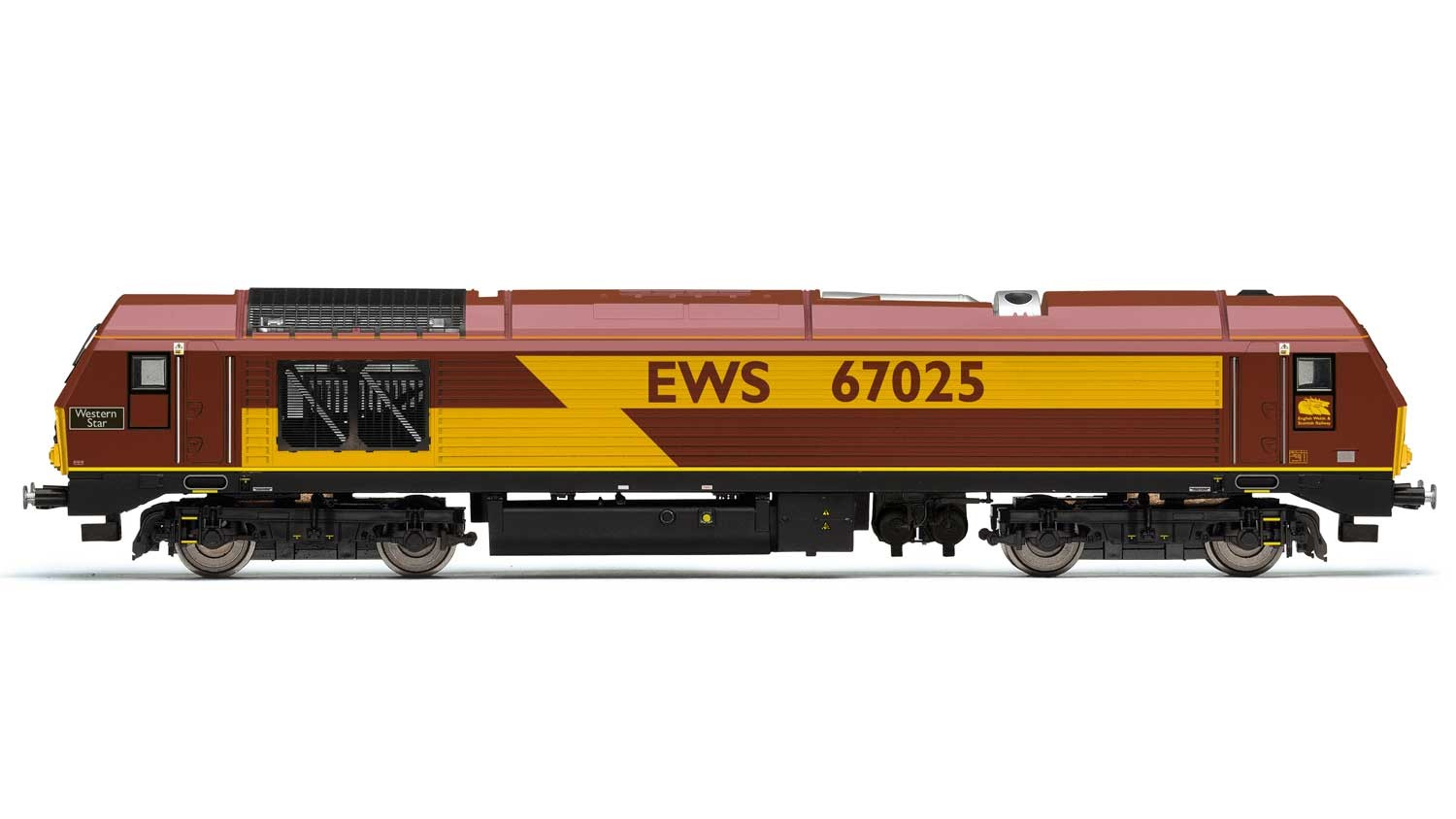 Hornby R3481 BR Class 67 67025 Western Star Image