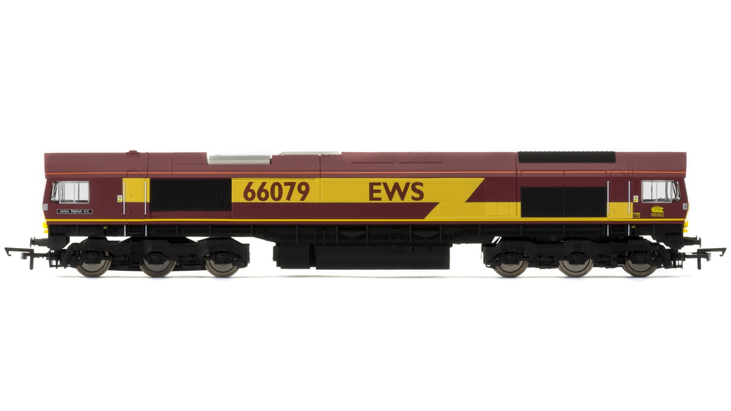 Hornby R3487 BR Class 66 66079 James Nightall GC Image