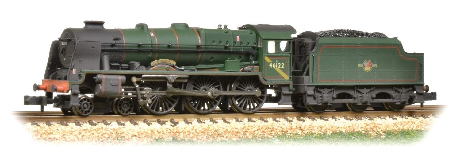 Graham Farish 372-579 LMS Rebuilt Royal Scot 46122 Royal Ulster Rifleman Image