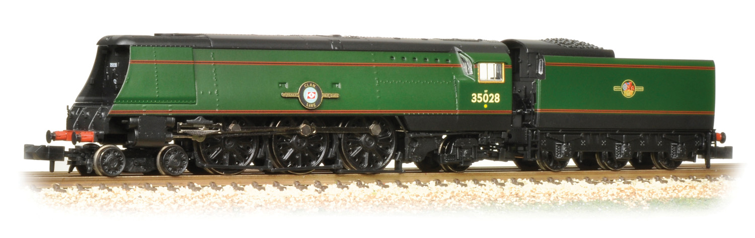 Graham Farish 372-312 BR Modified Merchant Navy 35028 Clan Line Image