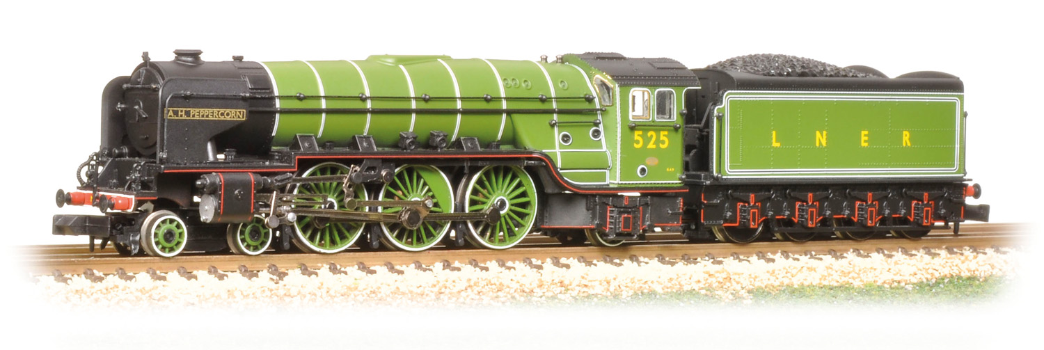 Graham Farish 372-385 LNER Peppercorn Class A2 525 A.H. Peppercorn Image