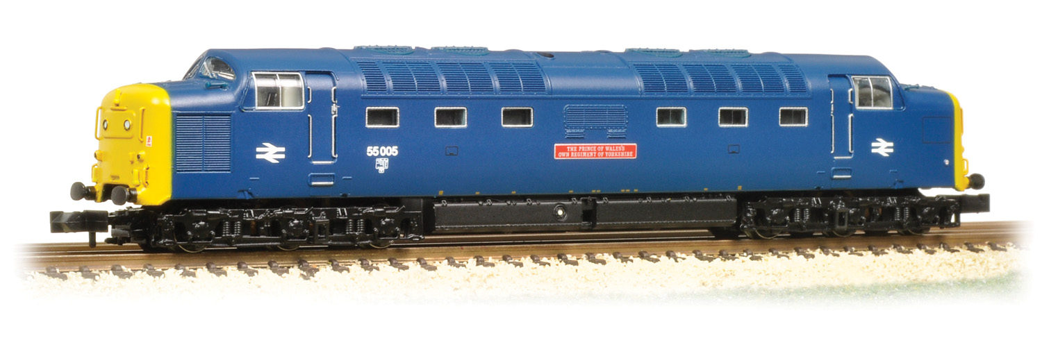 Graham Farish 371-287 BR Class 55 Deltic 55005 The Prince of Wales's Own Regiment of Yorkshire Image