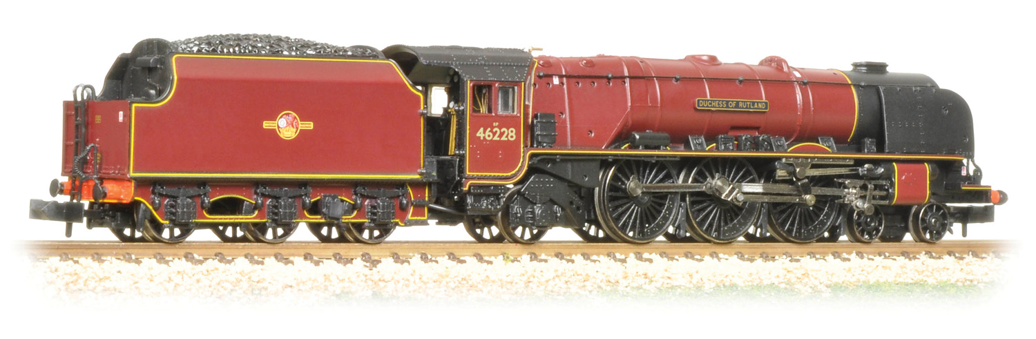 Graham Farish 372-184A LMS 8P Coronation 46228 Duchess of Rutland Image