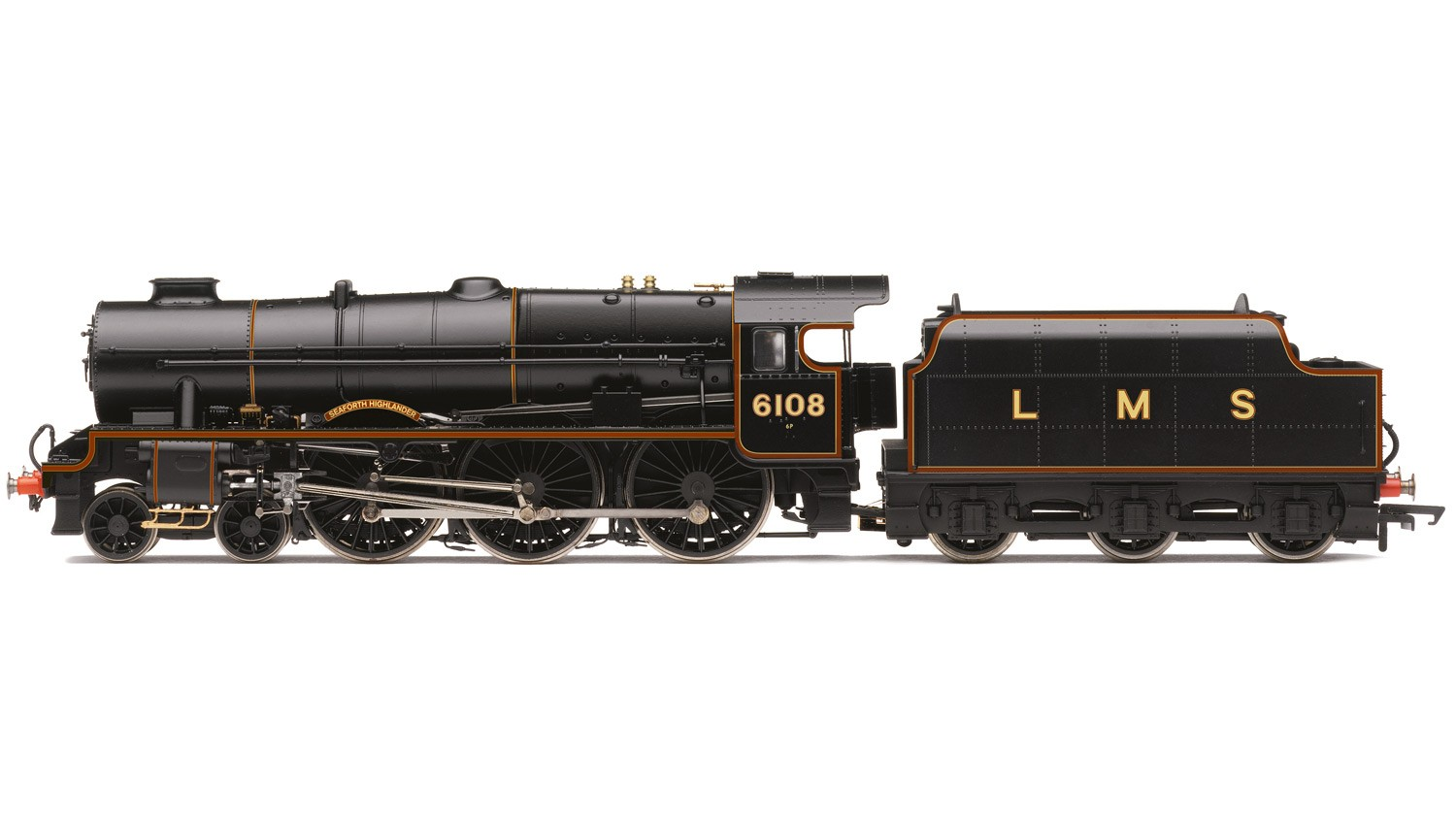 Hornby R3517 LMS 7P Royal Scot 6108 Seaforth Highlander Image