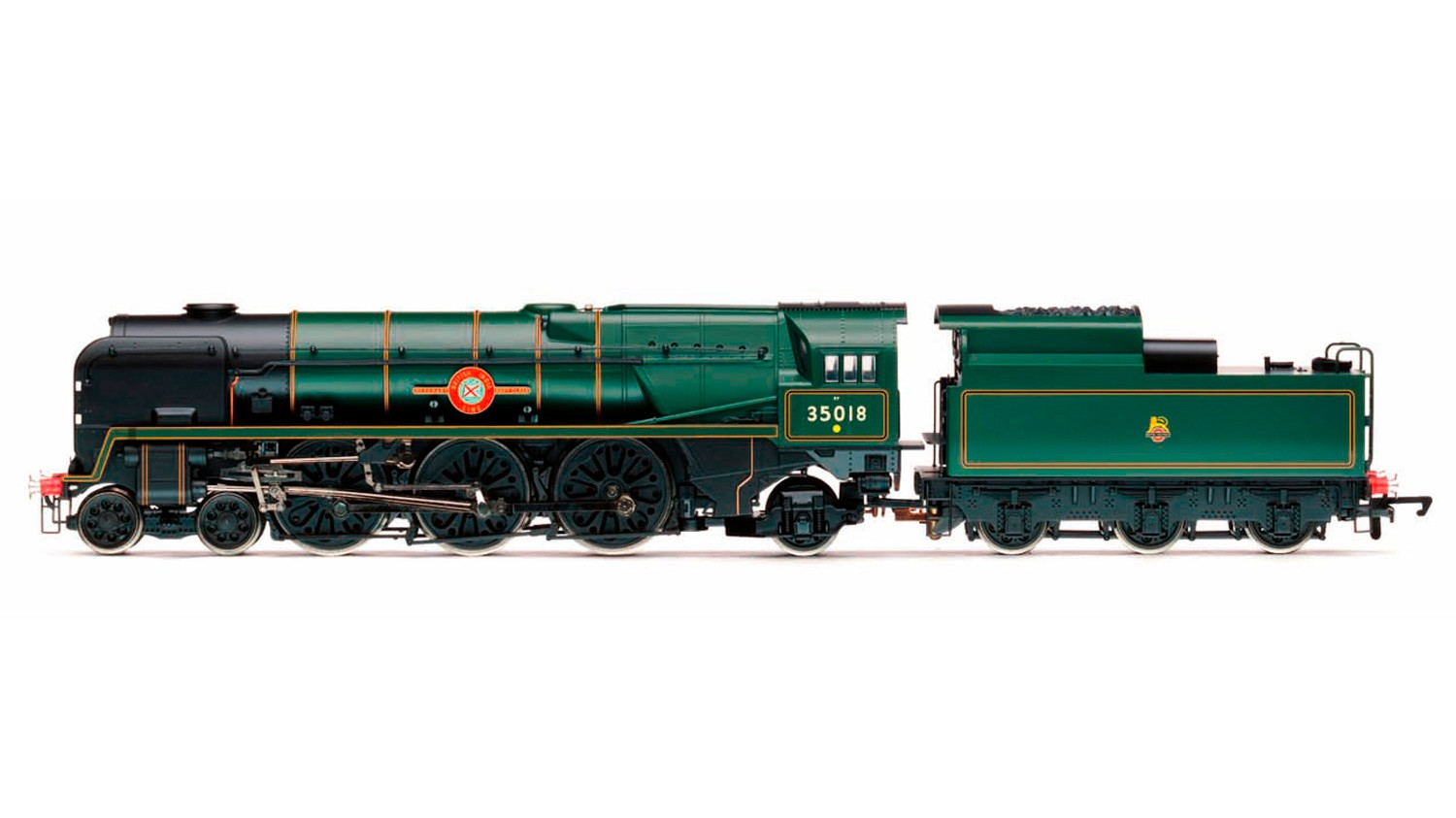 Hornby R3566 BR Modified Merchant Navy 35018 British India Line Image