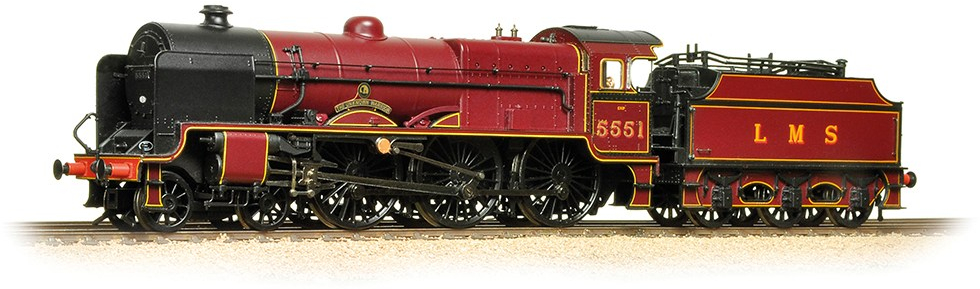 Bachmann 31-215SF LMS 6P Patriot 5551 The Unknown Warrior Image