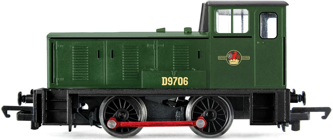Hornby R3755 W. G. Bagnall Limited 0-4-0DH D9706 Image