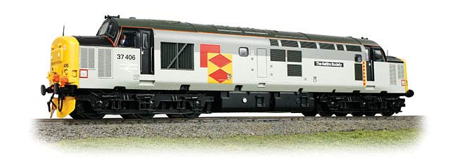 Bachmann 32-384 BR Class 37/4 37406 The Saltire Society Image