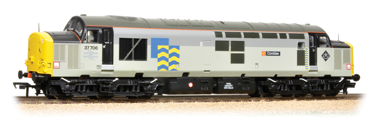 Bachmann 32-390 BR Class 37/7 37706 Conidae Image