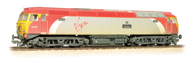 Bachmann 32-762DS BR Class 57 57312 The Hood Image