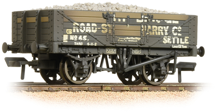 Bachmann 37-039 5 Plank Wagon Helwith Bridge Road-Stone Quarry Co. Image