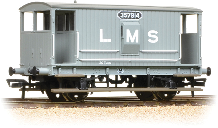 Bachmann 38-552A Brake Van London, Midland & Scottish Railway 357914 Image