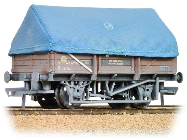 Bachmann 33-085 China Clay Wagon British Rail B743783 Image