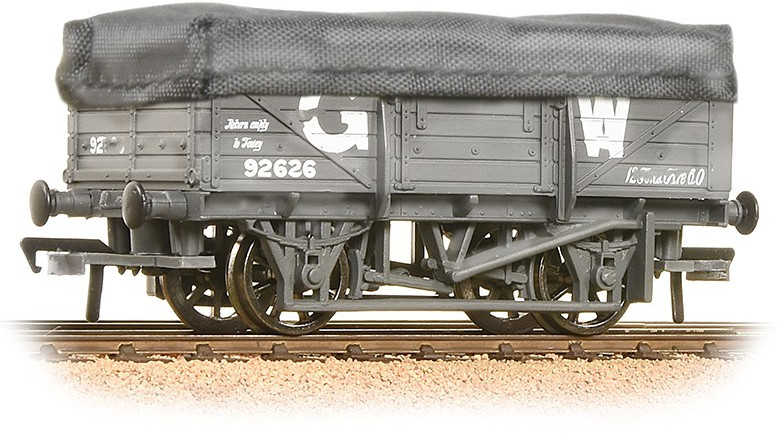 Bachmann 33-088 China Clay Wagon Great Western Railway 92626 Image