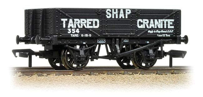 Bachmann 37-035 5 Plank Wagon Shap Granite Company Limited 354 Image