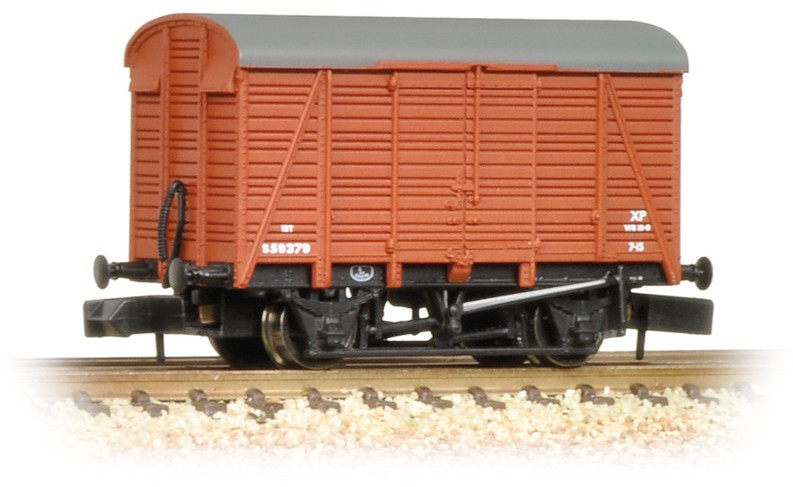 Graham Farish 377-427 12 Ton Ventilated Van British Railways S59379 Image