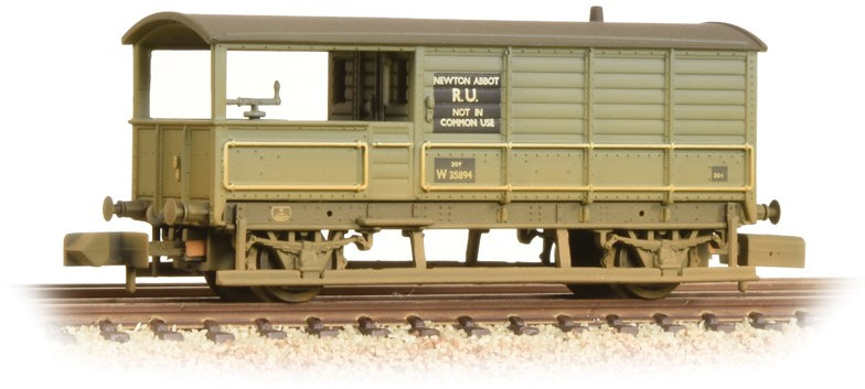 Graham Farish 377-376A Brake Van British Railways W35894 Image