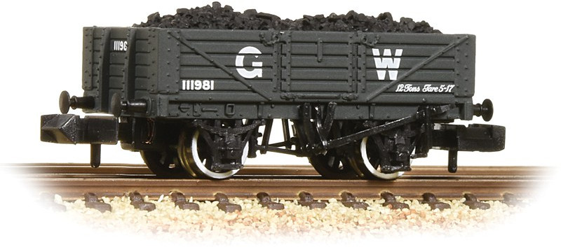 Graham Farish 377-061 5 Plank Wagon Great Western Railway 111981 Image