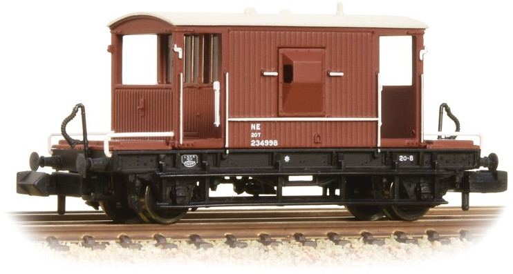 Graham Farish 377-527C 20 Ton Brake Van London & North Eastern Railway 234998 Image