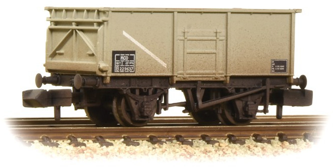 Graham Farish 377-255 16 Ton Steel Mineral Wagon British Rail B229637 Image