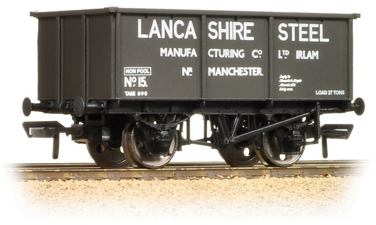 Graham Farish 377-280 Tippler Wagon Lancashire Steel Manufacturing Company Limited 15 Image