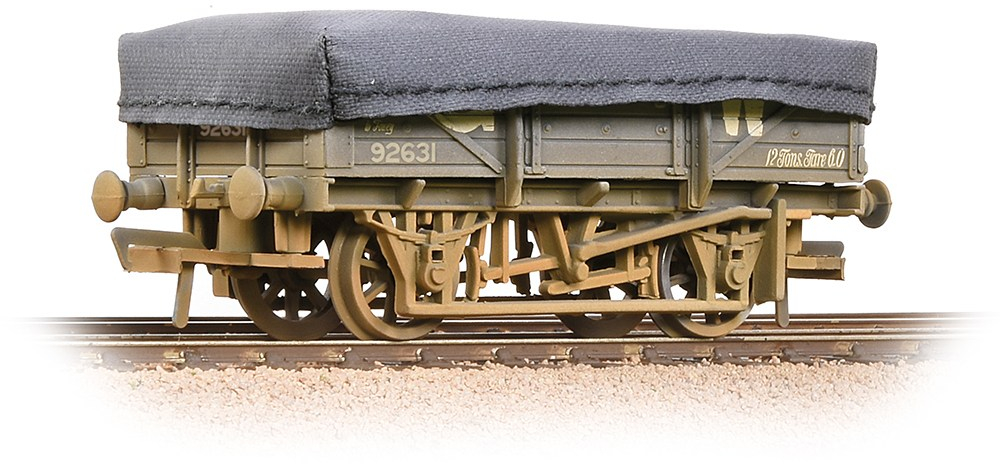 Bachmann 33-088A China Clay Wagon Great Western Railway 92631 Image