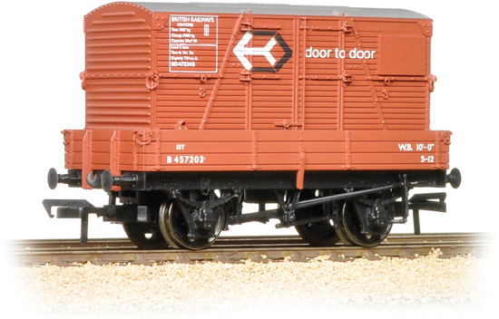 Bachmann 37-930 3 Plank Wagon British Railways M470105 Image
